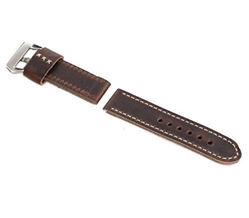 marron-oscuro-26-26-de-punto-de-correa-de-piel-autentica-con-hebilla-para-panerai-reloj