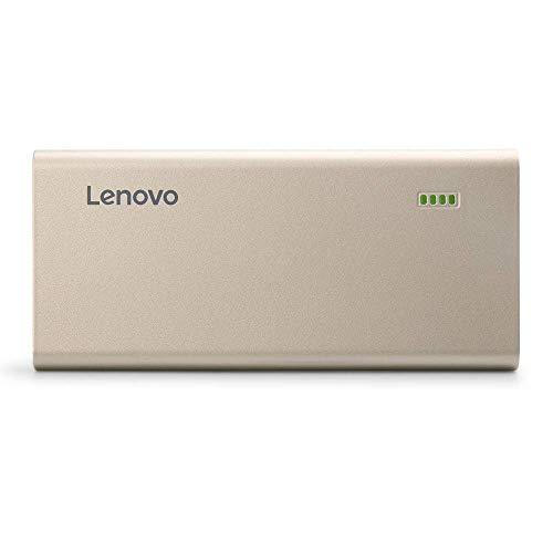 (Renewed) Lenovo PA10400 10400mAH Lithium Ion Power Bank (Gold) Image 4
