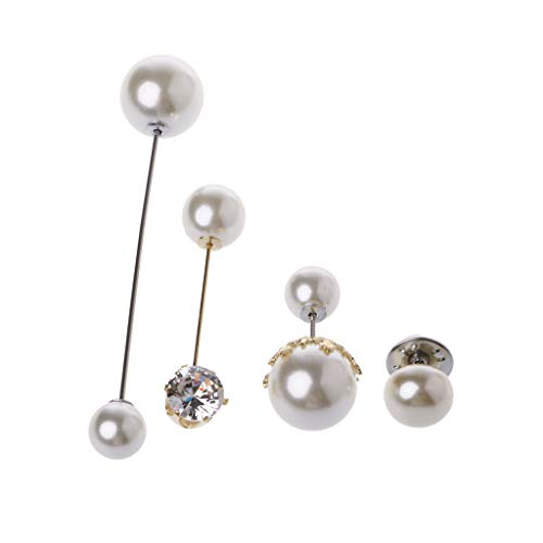 Kofun Perlen Broschen, Mischung Aus Klassischen Stil Nachahmung Perlen Broschen Sicherheitsnadeln Set Für Frauen (Aztec Indischen Kostüm)