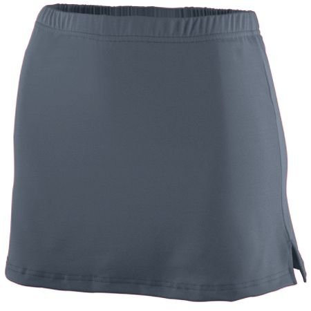 Augusta Ladies Poly/Spandex Team Skort (Graphite) (XL) (Skort Team)