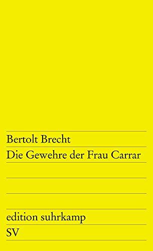 Carrar (edition suhrkamp) ()