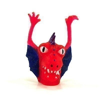 Finger-Monster AQUATIC red - Beast for your Fingers