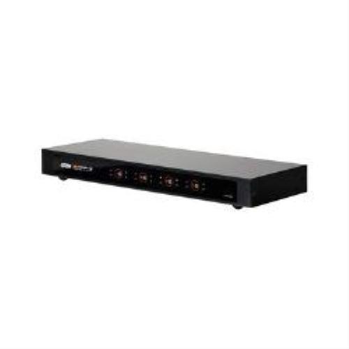 ATEN VM0404H 4x4 HDMI Matrix Switch - selettore video/audio - desktop, montabile su rack