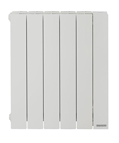 Radiateur chaleur douce Baléares 2 1250W, horizontal, Blanc