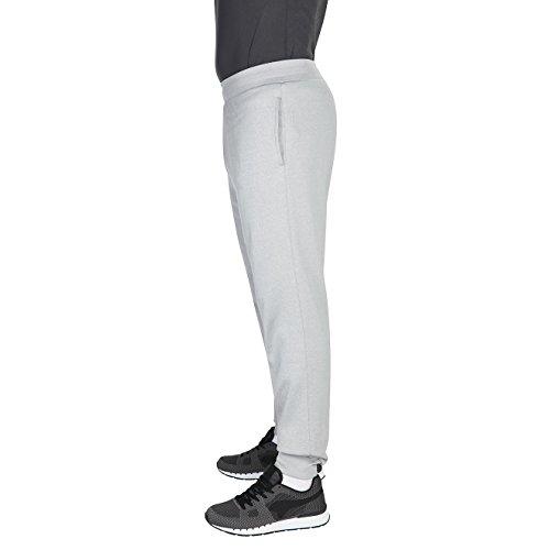 Canterbury, pantaloni lunghi in pile con elastico. Sleet Marl/Mazarine