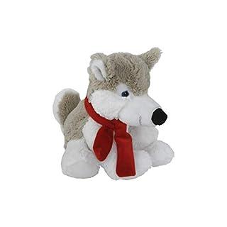 Roomando Plüschtier Kuscheltier Hund extra weiches Softplüsch Husky Aico S 16 cm