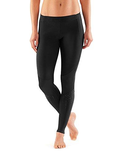 Skins Damen DNAmic Triathlon Tri Anzug mit Reißverschluss vorne, Schwarz, Weiblich groß