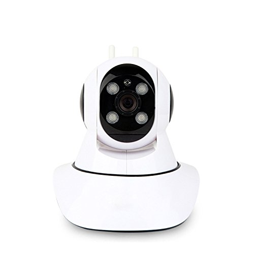 dgkunli Way Audio WiFi Wireless Surveillance IP Security Camera HD 1280x1080p Night Vision,Pan/TiltGift