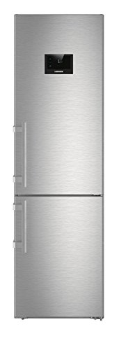Liebherr cbnpes 4858 Freestanding 344L A + + + Stainless Steel Fridge and Freezer - Freestanding Fridge Freezer, Stainless Steel, Right, Touch, TFT, Stainless Steel)