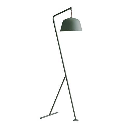 LXJYMX Standard Stehleuchte Floor style Lampe, Studie Schlafzimmer kreative Stehleuchte (Farbe : Matcha green)