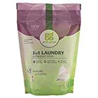 Grab Green Natural 3In1 Laundry Detergent Pods Lavender With Vanilla 24 Load