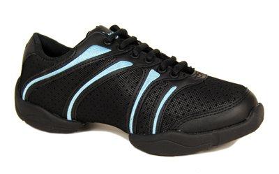 Capezio Capezio DS30 Bolt Tanz Sneaker - Blau - Größe 36