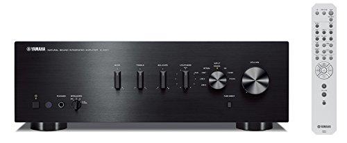Yamaha AS-301 - Amplificador de transistores para Hogar, negro