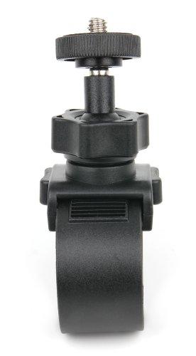 Stabile Easy-Fit Fahrrad-Halterung mit Stativschraube (3,5mm) für Panasonic HX-WA30EF-K und Sanyo Xacti VPC-CA100 Kamera Xacti