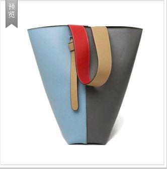 Mefly Spalla Singolo Croce Obliqua In Borsa In Pelle Alla Moda Crash Arancione Marrone Tromba Blue gray trumpet