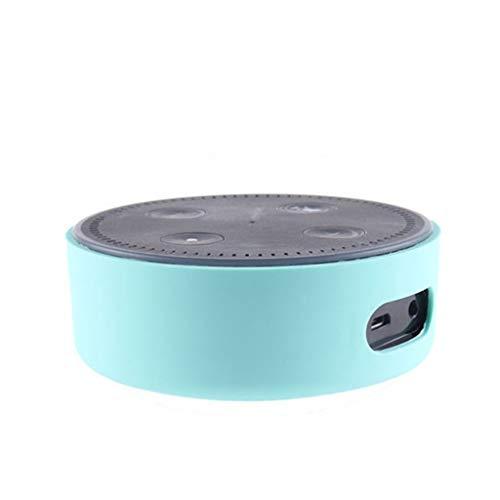 TAOtTAO Silikon ultradünne Schutzhülle für Amazon Echo Dot 2 Silikonhülle (B)