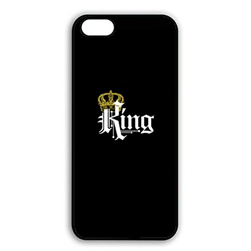 Boyfriend and Girlfriend Lovers Iphone 7 Plus Case Fashionable Cool King Queen Matching Couple Phone Case Cover for Iphone 7 Plus Best Friends Prime Color031d