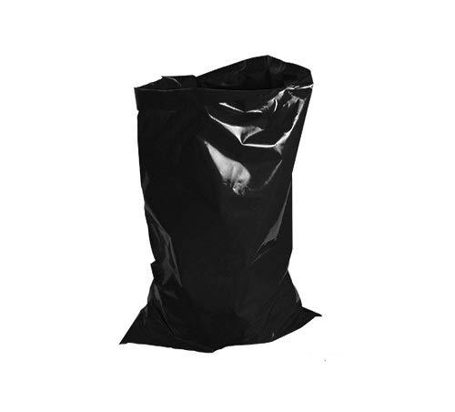 Uk Store 247 - Bolsas de Basura Resistentes 80 L, 15 kg, Color Negro, Negro, 18 x 29 x 39'' Inches