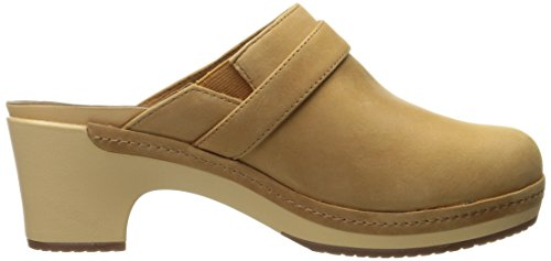 CROCS Damenschuhe - SARAH LEATHER CLOG - camel Camel