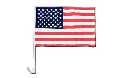 USA Flagge, amerikanische Autoflagge - 30 x 40 cm, MaxFlags®