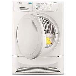Faure FDP7206PZ sèche-linge Autonome Charge par-dessus Blanc 7 kg B - Sèche-linge (Autonome, Charge par-dessus, Pompe à chaleur, Blanc, Boutons, Droite)