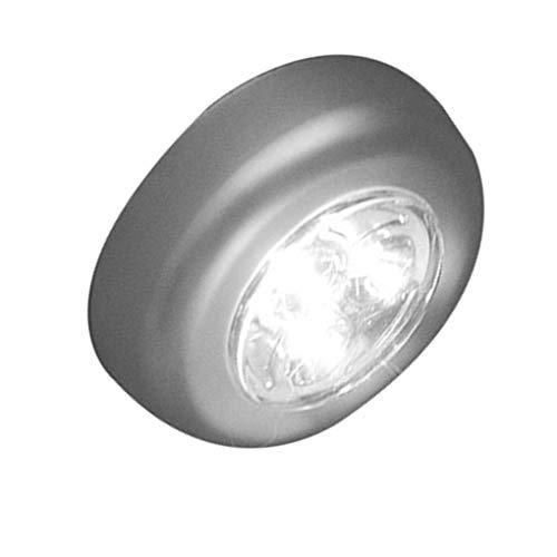 riebene LED-Wireless-Nachtlicht-Stock-Hahn-Noten-Push-Sicherheitsschrank Kabinett Auto Küchenwandleuchte ()
