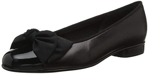 Gabor Shoes Damen Gabor Basic Geschlossene Ballerinas, Schwarz (Black 37), 39 EU (6 UK)