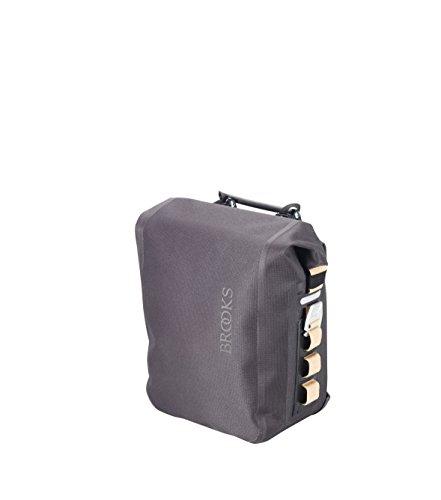 Brooks England Ltd. Gepäckträgertaschen Pannier, Dark Grey, One Size, BB018 A07236 (Brooks Korb)