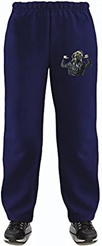 Bad Boy Super Soft Kids Lightweight Jog Pants by Benito Clothing - 80% Organic, Hypoallergenic Cotton & 20% Polyester - Casual & Sports Wear - Perfect Present 9-11 years