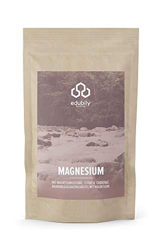 Magnesium-Kapseln Mit Magnesiumglycinat, Citrat & -Carbonat • Ohne Magnesiumstearat • Mit Vitamin B6 (P-5-P) • Vegan (90 Kapseln)