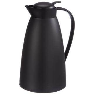 Alfi 825010100 Eco Vacuum Flask, White Plastic, 1 Litre, Plastic, black, 1,0 l