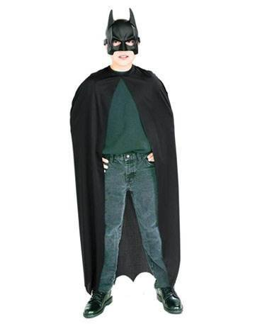 Batman Kostüm Batmankostüm Set Maske Umhang Bat man Fledermaus Superheld Held Ritter Lizenz Film Comic Brave and Bold Knight 2 (Bold The Brave Batman And Kostüme)