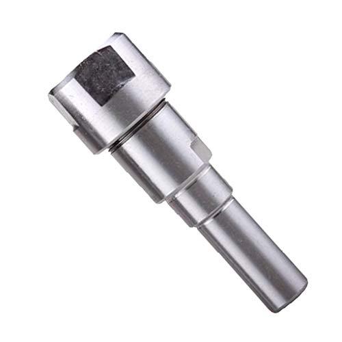 KESOTO Router Spannzange Erweiterung Graviermaschine Verlängerungsstange, 8mm / 12mm / 12,7mm(1/2 ZOll) Schaft - 8 mm