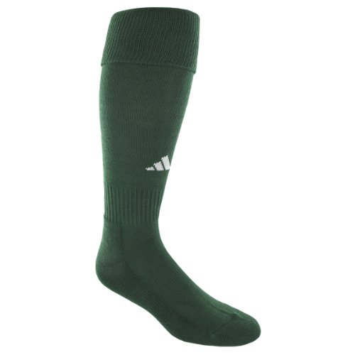 adidas Youth Field Sock II Soccer Sock Forest/White