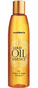 Bernstein-essenz-Öle (MONTIBELLO Gold Öl Essenz Bernstein & Argon Shampoo 1000ml)