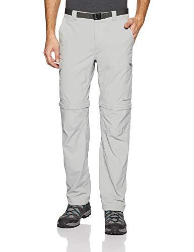 d33cd458b43ed Columbia Homme Pantalon de Randonnée 2 en 1, SILVER RIDGE CONVERTIBLE PANTS,  Nylon,