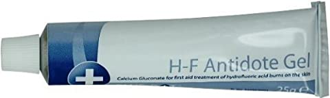 HF Antidote Gel (Calcium Gluconate 25g) - Hydrofluoric Acid Burn