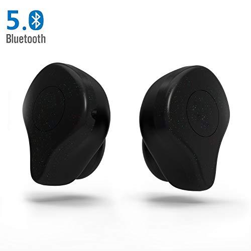 LEZII True Wireless Earbuds Drahtlose Ohrhörer Bluetooth 5.0 Stereo Ohrhorer Bilateral Headset Anruf IPX5 48 Stunden Spielzeit Schnurlose Bluetooth Kopfhörer mit Mikrofon Tragbare Lade Box
