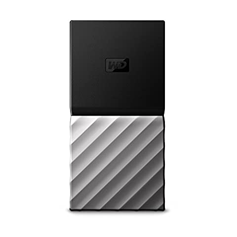 WD 256GB My Passport SSD Portable External Solid State Drive