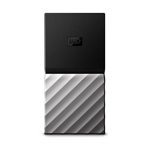 WD My Passport SSD 512 GB, Mobile SSD-Festplatte, USB Type-C und USB 3.1 Gen 2-Ready, mit Kennwortschutz und Software für Automatische Datensicherung, WDBK3E5120PSL-WESN