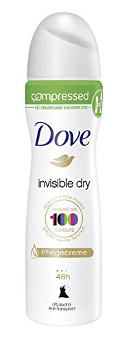 Dove Deospray Invisible Dry Anti-Transpirant Compressed, 6er Pack (6x 75 ml)