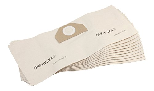 DREHFLEX - 10x Staubsaugerbeutel SB722 - Material Papier - passend für diverse Staubsauger/Sauger / Kesselsauger/Mehrzwecksauger von Kärcher - passend für 6.959-130