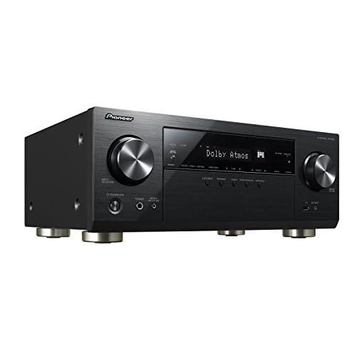 Pioneer VSX-933(S) 7.2 Channel AV Receiver (Hifi Amplifier 135 Watt/Channel, Multiroom, Wifi, Bluetooth, Streaming…