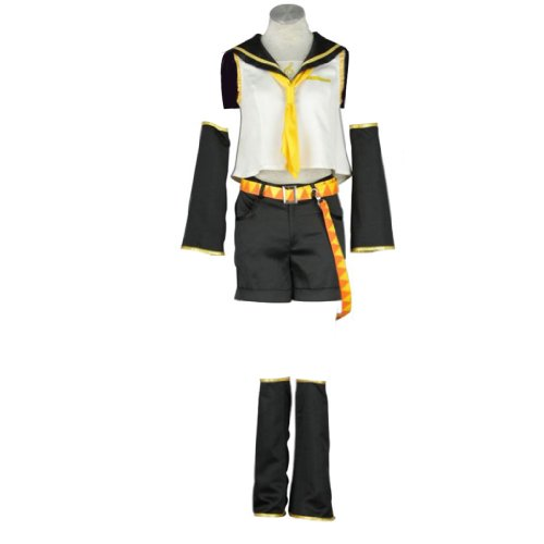 Kagamine Kostüm Cosplay Rin - Dream2Reality Vocaloid Family Cosplay Kostuem - Kagamine Rin Kid Size Large