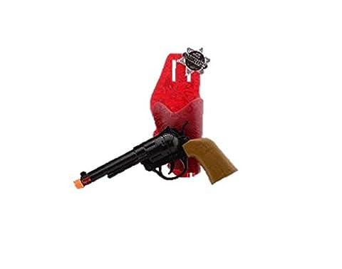 Cowboy Gun and Holster Revolver Gun Playset Western Toys Costume