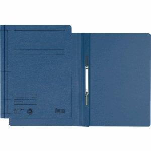 Leitz 50 x Schnellhefter Rapid A5 Karton blau