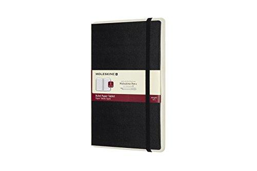 Moleskine Paper Tablet - Cuaderno adicional para el Smart Pen+, tapa dura, A5