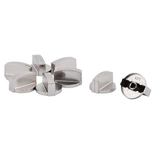 Preisvergleich Produktbild 8x Küche Metall Gasherd Herd Ofen Brenner Bereichssteuerung Drehschalter Knopf