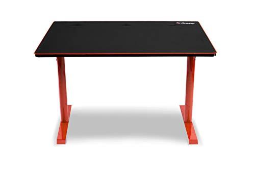 Arozzi Leggero Bureau pour Gaming, Rouge, 114 x 72 x 75,5 cm