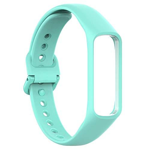 NOWAYTOSTART Ersatzarmband Sportuhr Armband Watch Strap Weiche Silikonband Sportuhr Einstellbare Ersatz Armband Armband,Komfortable,Für Samsung Galaxy Fit-e R375 Smart Armband